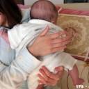 ≪生後0ヶ月≫授乳後のげっぷ 基本はこれだけでOK!