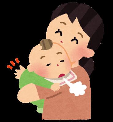 赤ちゃんの嘔吐対処!原因はげっぷ不足だけじゃない?
