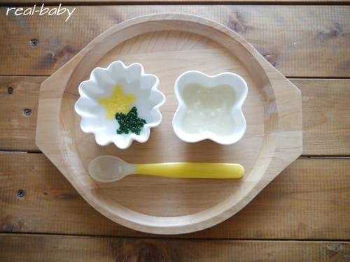 離乳食初期~ブロッコリー、トウモロコシのレシピ