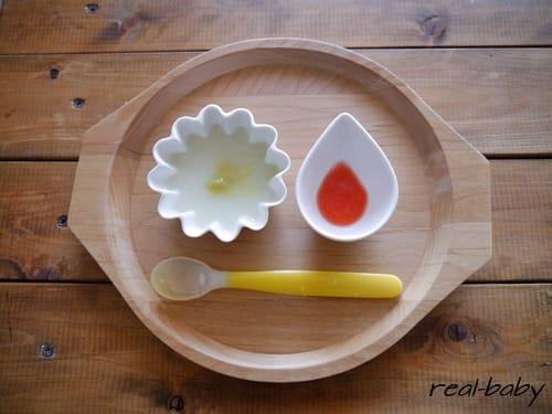 離乳食初期~トマト、ナスのレシピ