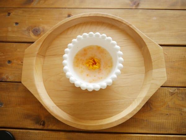 離乳食初期~お粥のアレンジ