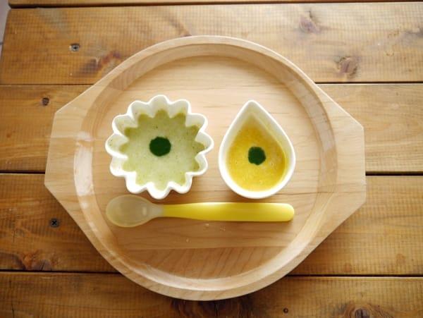 離乳食初期~簡単!ストック食材の組み合わせ4選