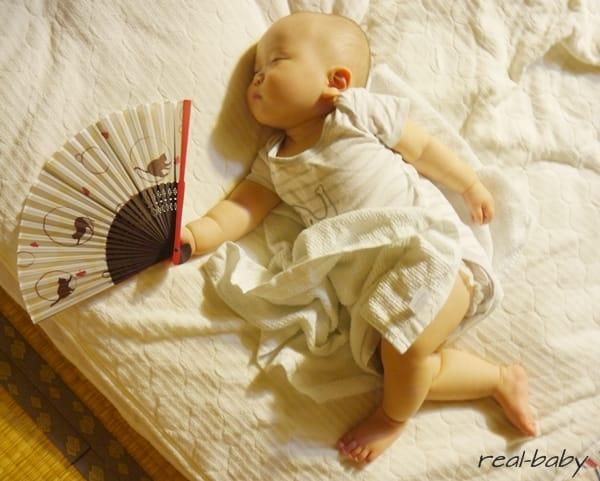 赤ちゃんの熱中症対策!熱中症レベルと対策のシンプルまとめ
