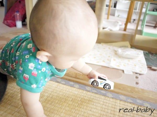 男の子は走る車が好き?