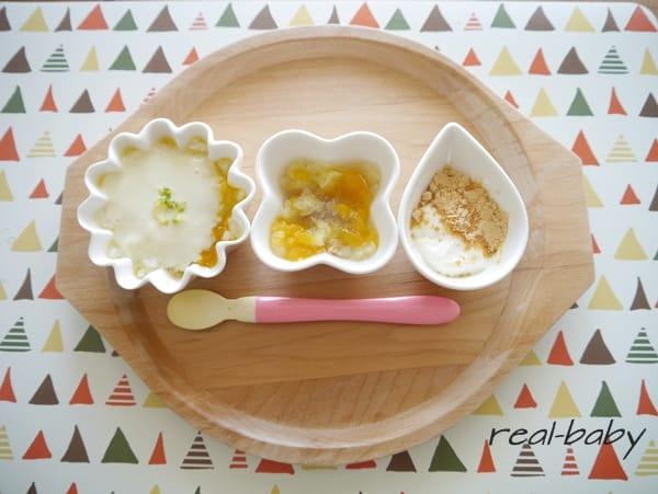 離乳食中期・後期~オリジナル豆乳ホワイトソースのアレンジ~