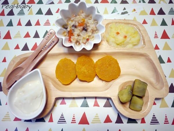 離乳食の簡単おやつレシピ~卵・牛乳不使用~