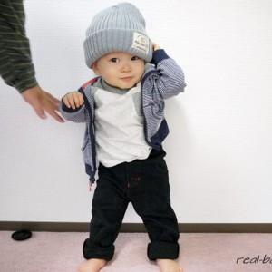 ≪生後11ヶ月ごろ≫赤ちゃんの秋の服装(お出かけコーディネートまとめ)