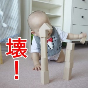 赤ちゃんのストレス発散法 2K1Y ~崩す・壊す・破く~