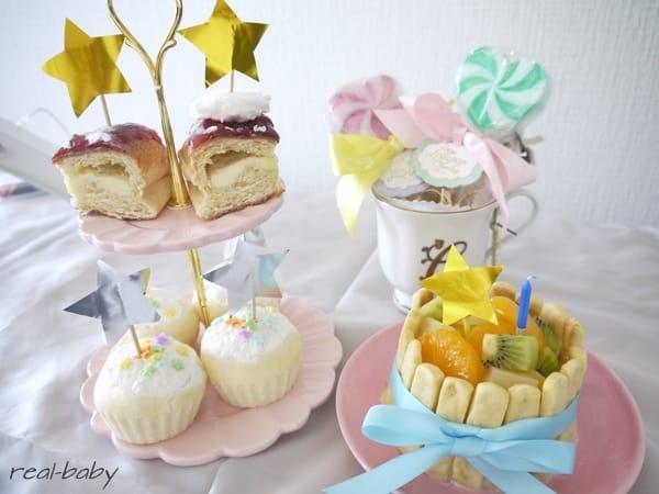 離乳食後期から完了期~赤ちゃんのためのケーキレシピ~